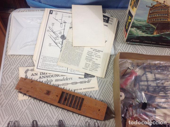 Maquetas: Antigua maqueta de barco de Revell . Nao Victoria - Foto 9 - 233256945