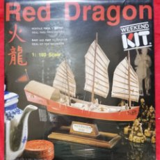 Maquetas: KIT MODELISMO - BARCO RED DRAGON 1885 - ESCALA 1:1000 - WEEKEND KIT - PRECINTADO - PJRB. Lote 233421765