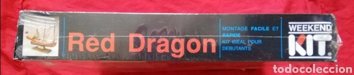 Maquetas: KIT MODELISMO - BARCO RED DRAGON 1885 - ESCALA 1:1000 - WEEKEND KIT - PRECINTADO - PJRB - Foto 3 - 233421765