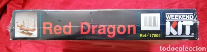 Maquetas: KIT MODELISMO - BARCO RED DRAGON 1885 - ESCALA 1:1000 - WEEKEND KIT - PRECINTADO - PJRB - Foto 4 - 233421765