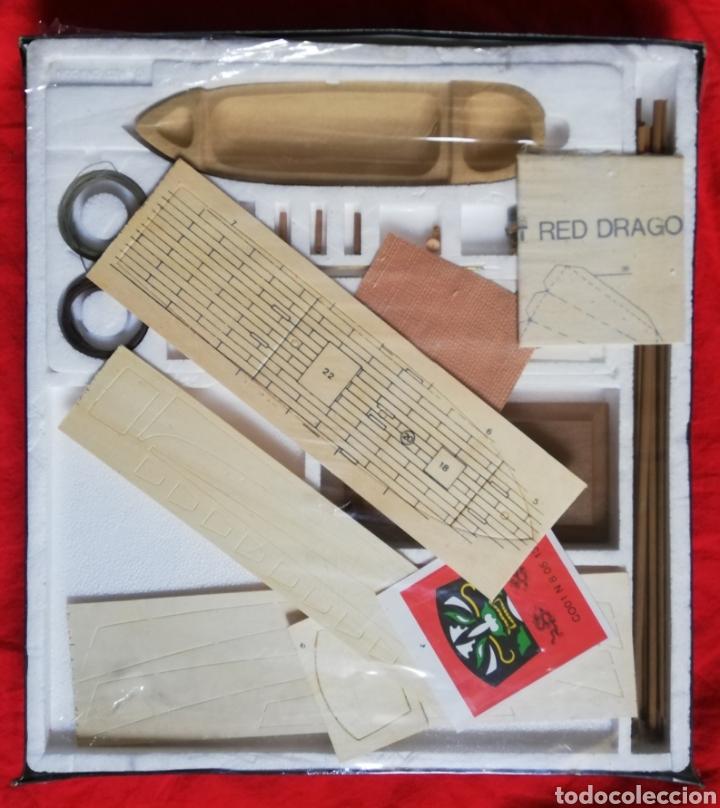 Maquetas: KIT MODELISMO - BARCO RED DRAGON 1885 - ESCALA 1:1000 - WEEKEND KIT - PRECINTADO - PJRB - Foto 2 - 233421765
