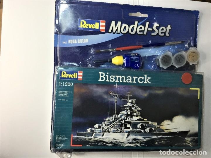 MAQUETA BISMARCK DE REVELL 1:1200 MODEL-SET (Juguetes - Modelismo y Radiocontrol - Maquetas - Barcos)