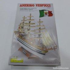 Maquetas: MAQUETA DEL BARCO AMERIGO VESPUCCI DE MINI MAMOLI. Lote 234057340
