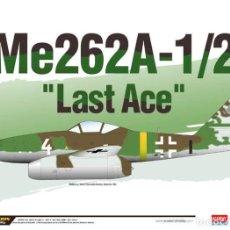 Macchiette: ACADEMY 12542 # ME262A-1/2 LAST ACE. Lote 234678715