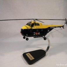 Maquettes: MAQUETA HELICÓPTERO SIKORSKY S-55 (ARMADA ESPAÑOLA). Lote 234833765