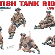 Maquetas: BRITISH TANK RIDERS (NW EUROPE). MINIART. 1/35. REF 35118. Lote 234852670