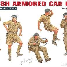 Maquetas: BRITISH ARMOURED CAR CREW. MINIART. 1/35. Lote 234856515