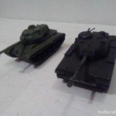 Maquetas: TANQUE M-60 Y M-47, ESCALA APROXIMADA 1/72 - SIN MARCA. Lote 235013090