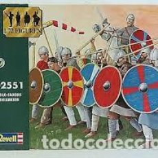 Macchiette: REVELL - ANGLO-SAXONS, 1066 1/72 02551. Lote 235370775