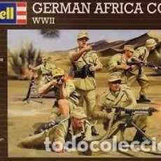 Macchiette: REVELL - GERMAN AFRICA CORPS WWII 1:76 02616. Lote 235372885