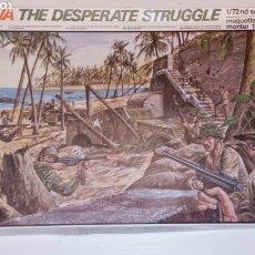 Maquetas: TARAWA THE DESPERATE STRUGGLE - 1/72 -ESCI- PLAY SET - PACIFIC WARS. Lote 235823225