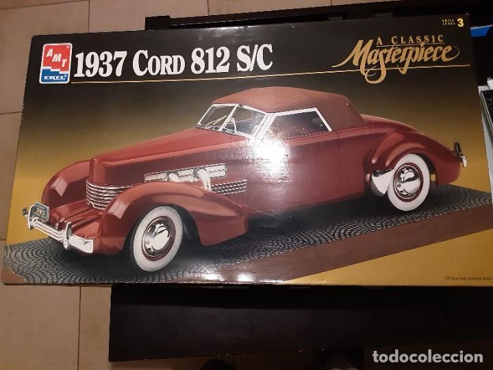MAQUETA COCHE 1937 CORD 812 S/C 1/12 AMT / ERTL (Juguetes - Modelismo y Radiocontrol - Maquetas - Militar)