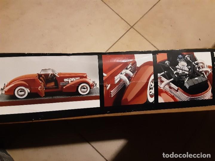 Maquetas: Maqueta coche 1937 cord 812 s/c 1/12 amt / ertl - Foto 2 - 236240810