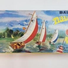 Maquetas: VELERO BALANDRE NAVEGABLE DE 40 CM GINER. Lote 236256535