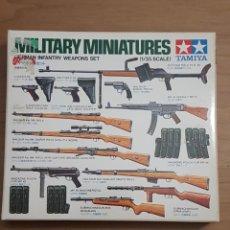 Maquetas: MAQUETA ARMAS WWII TAMIYA 1/35. Lote 236441120