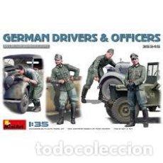Maquetas: MINIART - GERMAN DRIVERS & OFFICERS 1/35 35345. Lote 236460015