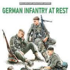 Maquetas: MINIART - GERMAN INFANTRY AT REST 1/35 35266. Lote 236460130