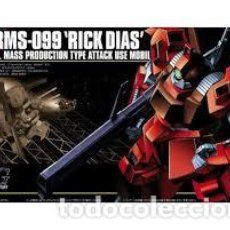 Maquetas: BANDAI - RMS-099 RICK DIAS A.E.U.G. MASS PRODUCTION TYPE ATTACK USE MOBIL 1/144 5057391. Lote 236460745