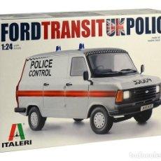 Maquetas: ITALERI 3657 # 1:24 FORD TRANSIT UK POLICE. Lote 236592085