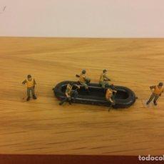 Maquettes: 6 ZARPADORES ALEMANES DE PREISER. Lote 236610915
