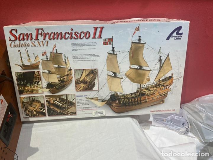 MAQUETA BARCO DE MADERA SAN FRANCISCO 2 . GALEÓN SIGLO XVI . NUEVA SIN MONTAR (Juguetes - Modelismo y Radiocontrol - Maquetas - Barcos)
