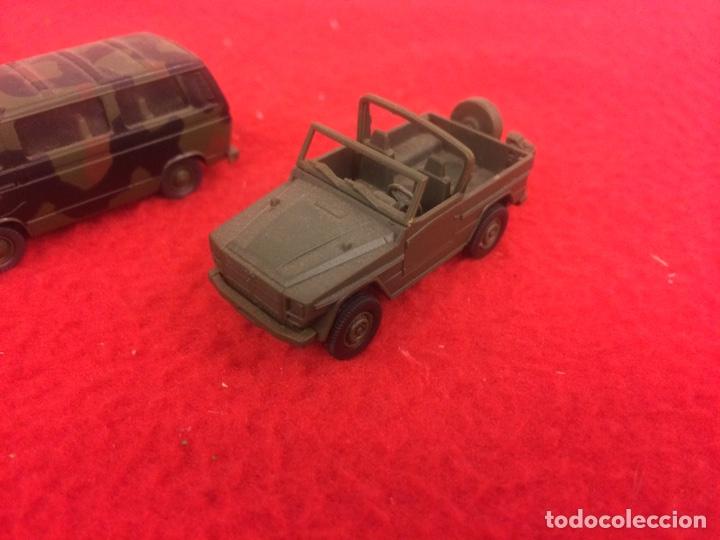 Maquetas: Un Mercedes , un w trasporter pintado y un pegueot de Rocco - Foto 2 - 236897365