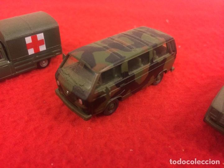 Maquetas: Un Mercedes , un w trasporter pintado y un pegueot de Rocco - Foto 3 - 236897365