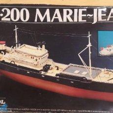 Maquetas: MAQUETA BARCO 1:200 MARIE-JEANNE. Lote 237566155
