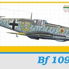 Maquetas: EDUARD 3403 # 1:32 BF-109 E-4. Lote 237581690