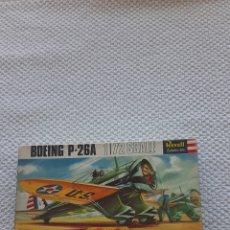 Maquetas: ANTIGUA MAQUETA DE AVIONES BOING P-26A. Lote 237977035