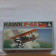 Maquetas: ANTIGUA MAQUETA DE AVIONES HAWK P-6E. Lote 237982070