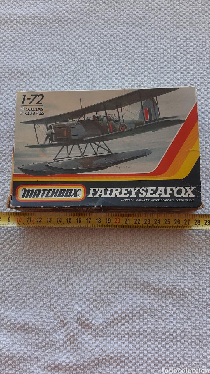 Maquetas: Antigua maqueta de aviones matchbox faireyseafox - Foto 2 - 237982785