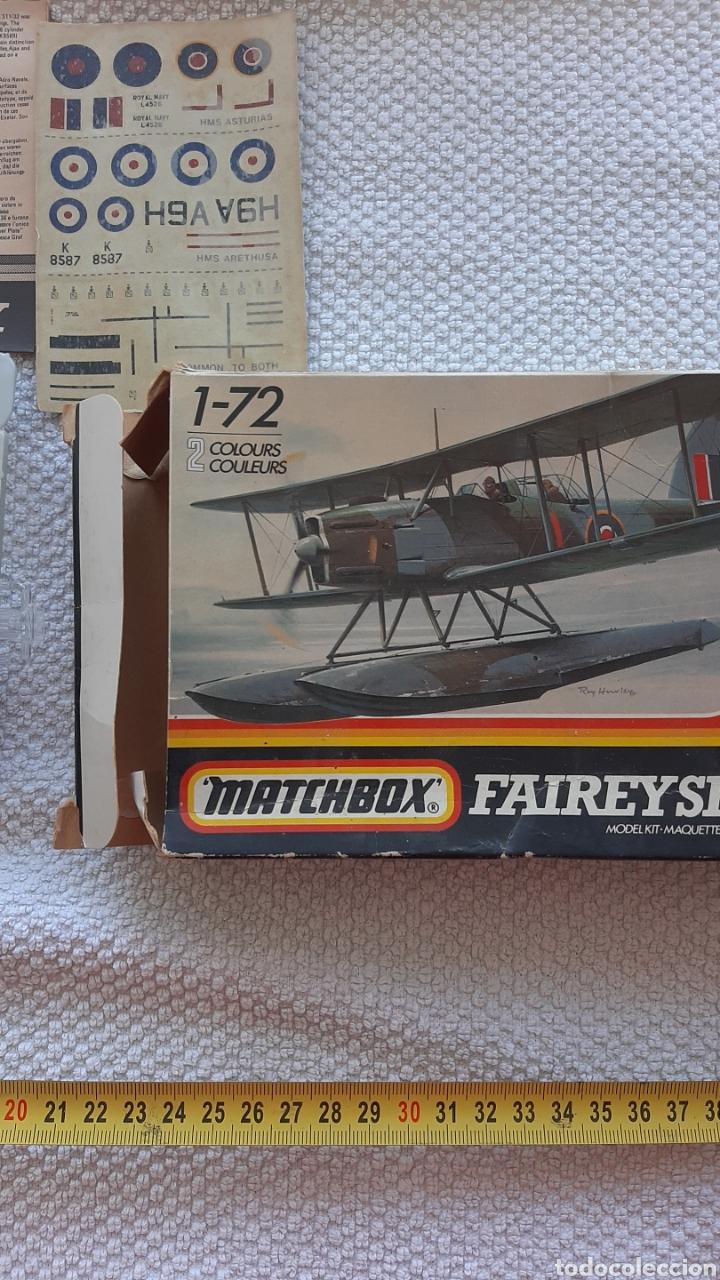 Maquetas: Antigua maqueta de aviones matchbox faireyseafox - Foto 4 - 237982785