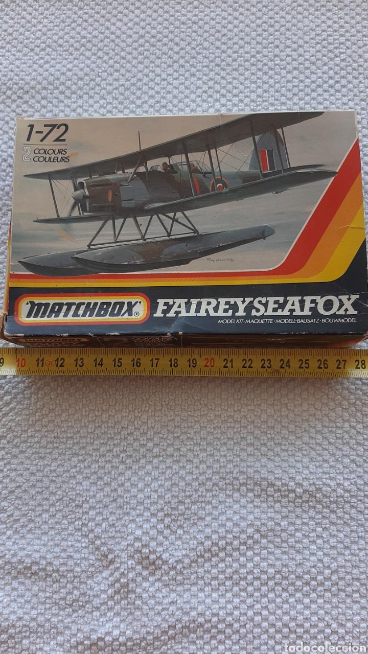 ANTIGUA MAQUETA DE AVIONES MATCHBOX FAIREYSEAFOX (Juguetes - Modelismo y Radio Control - Maquetas - Aviones y Helicópteros)