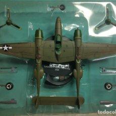 Maquettes: AVIÓN SEGUNDA GUERRA MUNDIAL COLECCIÓN ALTAYA 1:72 METAL USA LOCKHEED P38 J. Lote 238155330
