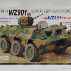Maquetas: MAQUETA TRUMPETER CHINESE ARMORED-CAR WZ901 ESCALA 1/35. Lote 238276860