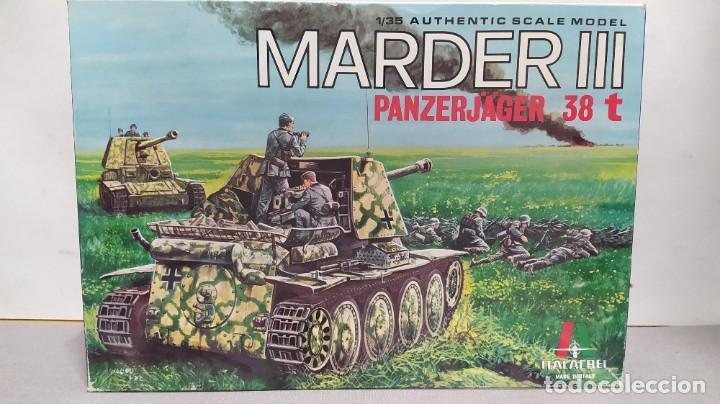 MARDER III PANZERJÄGER 38 T ITALAEREI 1/35.NUEVO BOLSAS SIN ABRIR. (Juguetes - Modelismo y Radiocontrol - Maquetas - Militar)