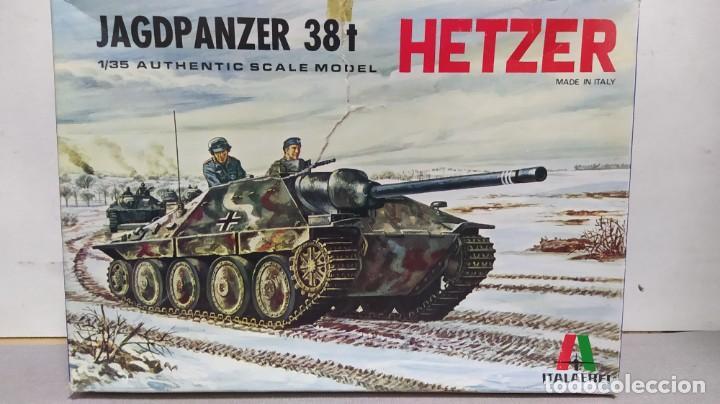 HETZER JAGDPANZER 38 T ITALAEREI 1/35.NUEVO BOLSAS SIN ABRIR. (Juguetes - Modelismo y Radiocontrol - Maquetas - Militar)
