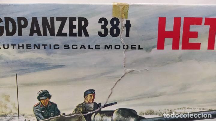Maquetas: Hetzer jagdpanzer 38 T Italaerei 1/35.nuevo bolsas sin abrir. - Foto 2 - 238403420