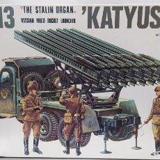 "Maquettes: BM-13 KATYUSHA ""THE STALIN ORGAN"" ITALAEREI 1/35.NUEVO BOLSAS SIN ABRIR.. Lote 238405265"