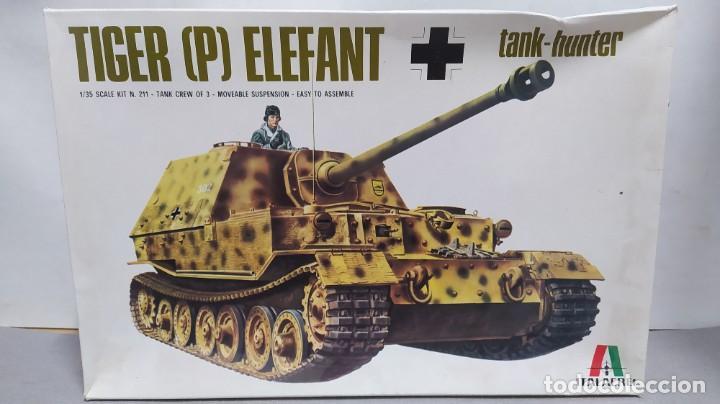 TIGER (P) ELEFANT TANK HUNTER ITALAEREI 1/35.NUEVO BOLSAS SIN ABRIR. (Juguetes - Modelismo y Radiocontrol - Maquetas - Militar)