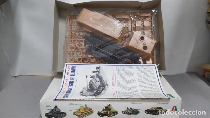 Maquetas: Tiger (P) Elefant tank hunter Italaerei 1/35.nuevo bolsas sin abrir. - Foto 2 - 238406880