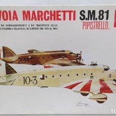 Maquetas: SAVOIA MARCHETTI S.M.81 PIPISTRELLO 1/72 SUPERMODEL. NUEVO BOLSAS SIN ABRIR. Lote 238413820