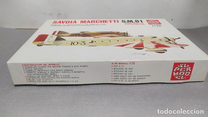 Maquetas: Savoia Marchetti s.m.81 pipistrello 1/72 supermodel. Nuevo bolsas sin abrir - Foto 2 - 238413820