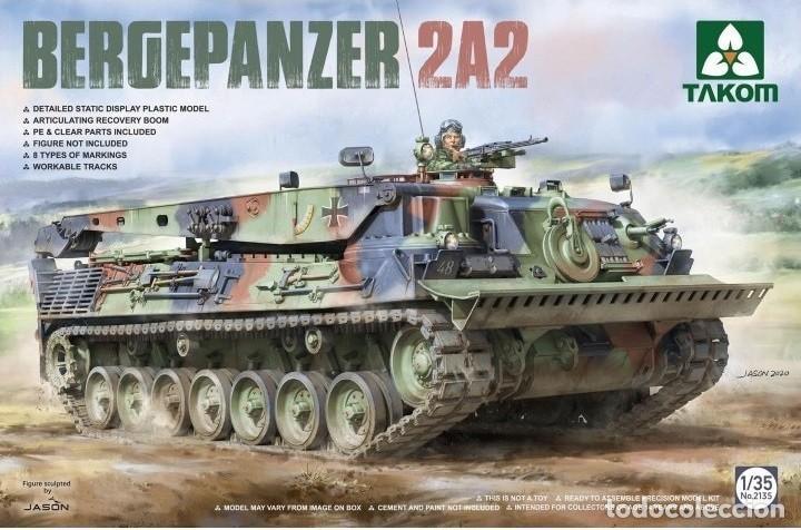 TAKOM 2135 # 1:35 BERGEPANZER 2A2 (Juguetes - Modelismo y Radiocontrol - Maquetas - Militar)