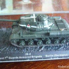 Maquetas: IS-2 BATALLA DE BERLIN EDICIONES ALTAYA. Lote 238549175