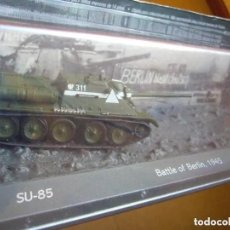 Maquetas: SU-85 BATALLA DE BERLIN 1945 EDICIONES ALTAYA. Lote 238555580