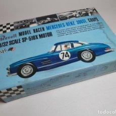 Maquettes: CAJA VACIA MAQUETA MERCEDES-BENZ 300SL COUPE SLOT RACING BODY REVELL | NO. R3207-100 | 1:32-AÑO 1965. Lote 239599785