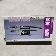 Macchiette: MAQUETA - SAMURAI SWORD - ESCALA 1:3 - ESPADAS SAMURAI - DOYUSHA - Nº 4. Lote 240792880