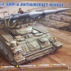 Maquetas: RUSSIAN SAM 6 ANTIAIRCRAFT MISSILE. TRUMPETER 1/35. Lote 240863130